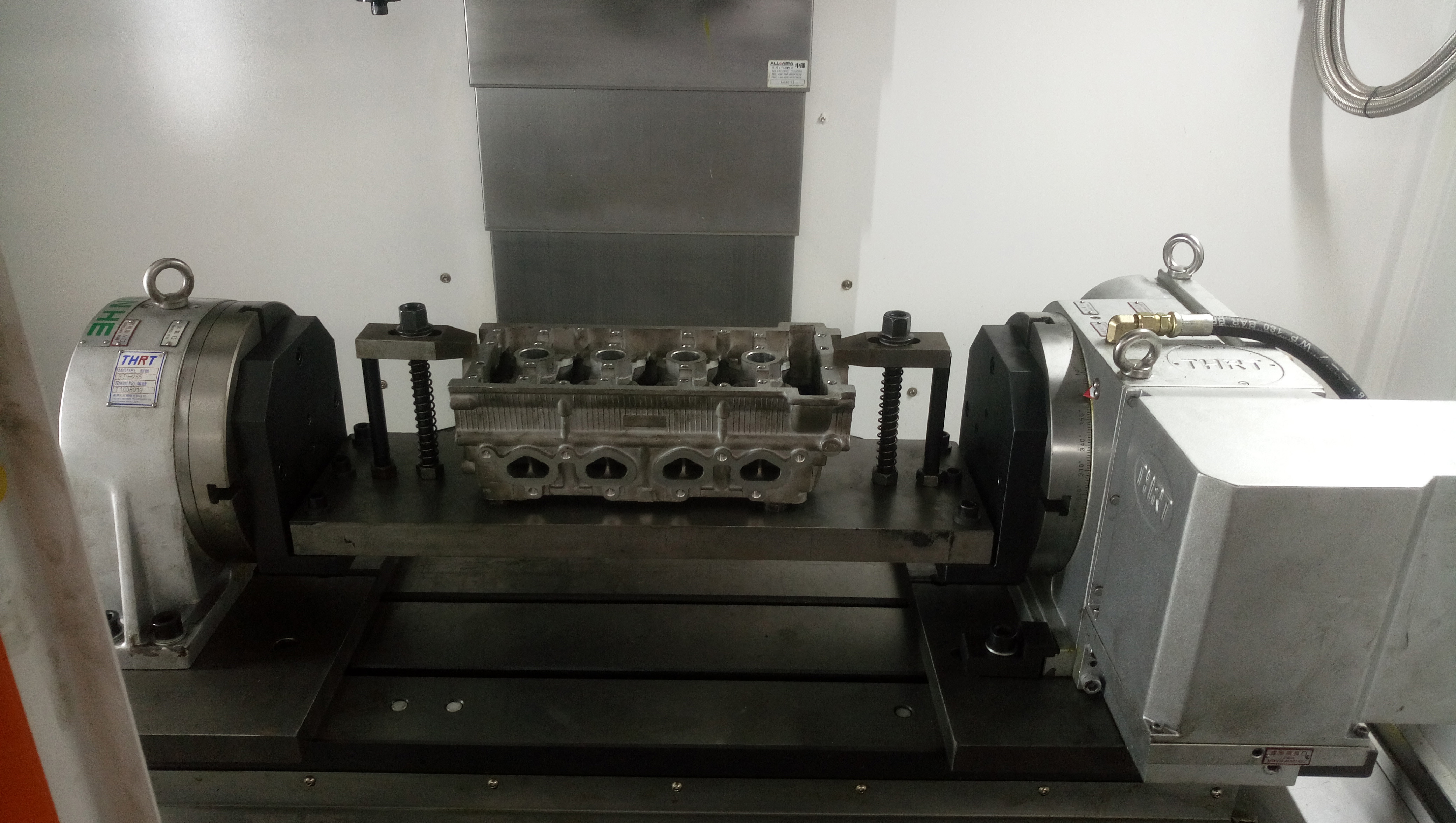 Automotive engine block processing
