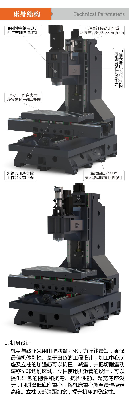 HD-V11F 高刚性三轴线轨立加